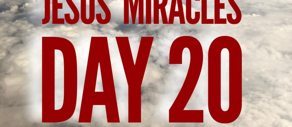 38 Days of Miracles: No Splashing!