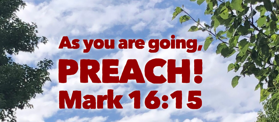 Mark: Day 31 - As you are going...