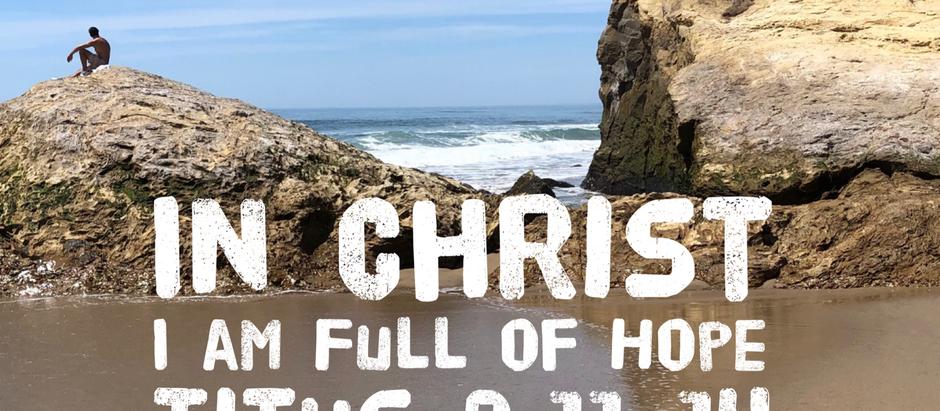 30 Days of Identity: I am Full of Hope