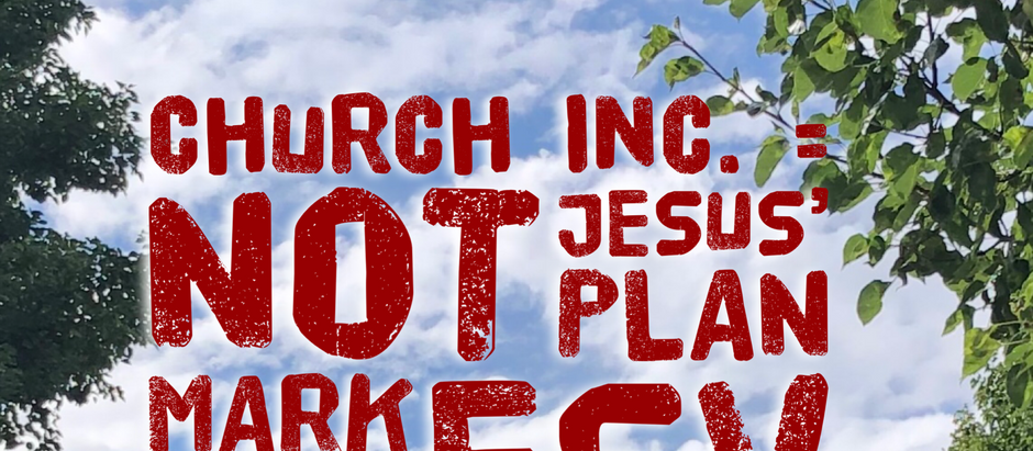 Mark: Day 21 - Church Inc.