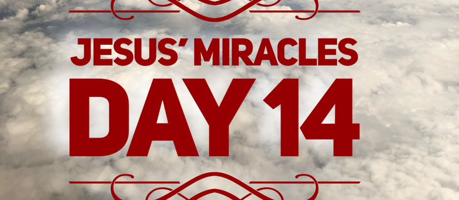 38 Days of Miracles: Stay in Touch with Jesus