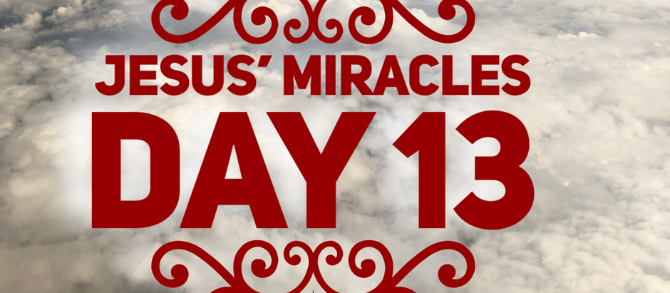 38 Days of Miracles: Is it Time Already