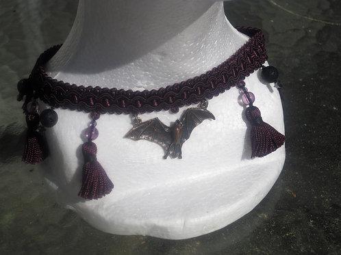 Gothic Bat Choker