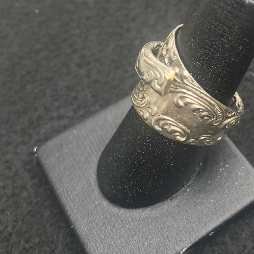 Swirly Spoon Ring Size 6.5