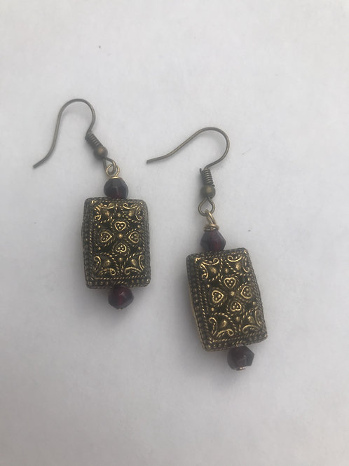 Just pretty Garnet earrings