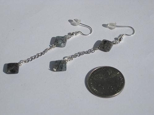 Polished Kyanite Earrings