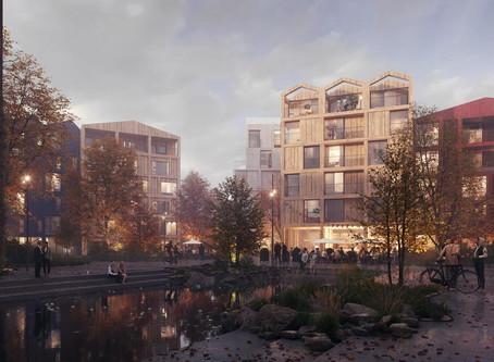 Copenhagen's First All-Timber Neighborhood