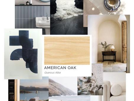 Timber Mood Boards: American Oak