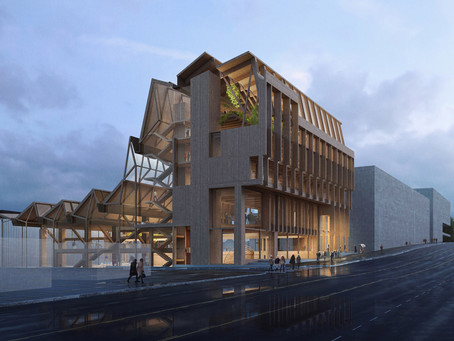 Grafton Architects reveals design for timber research centre