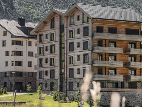 """The """"Gemse"""" Timber Building"""