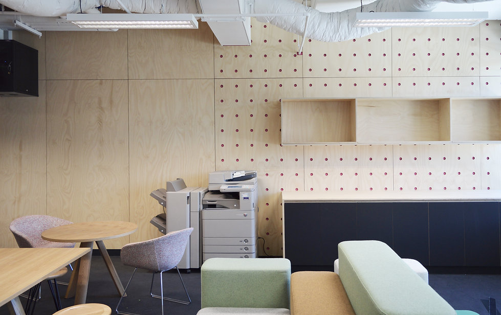 Perforated ply cladding Canberra