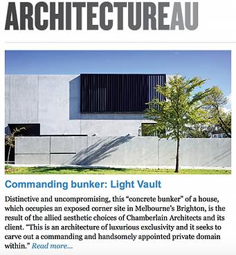 ArchitecturalAU Enewsletter 13 February