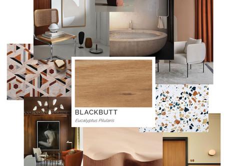 Timber Mood Boards: Blackbutt