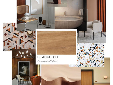 Timber Mood Boards: Blackbutt