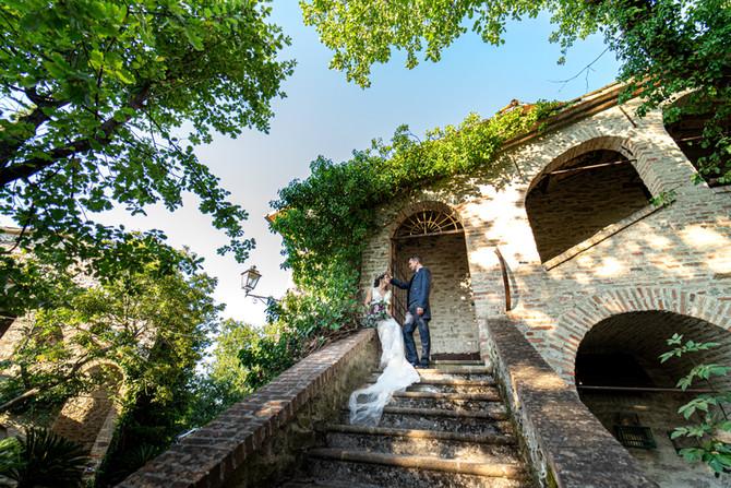Servizio fotografico a Borgo Fregnano: Valentina e Fabio