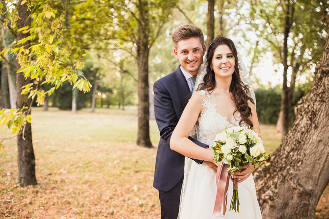 Matrimonio nella storica Villa Ghigi: Caterina e Matteo