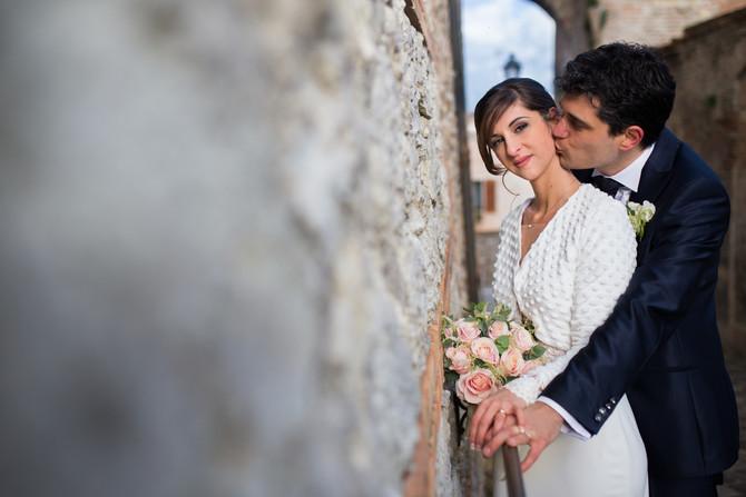 Il servizio fotografico di matrimonio invernale? Guarda Michele e Stefano all'Antico Casale