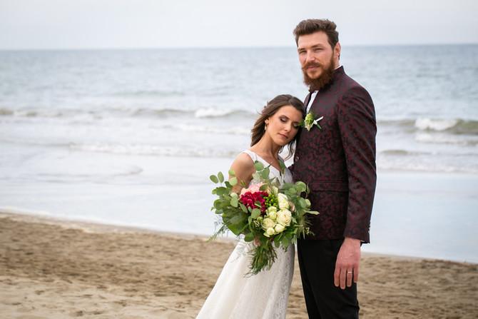 Matrimonio al mare. L'intervista a Justine e Michele, che hanno scelto Aloha Beach!