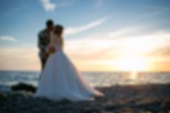 foto matrimonio al mare