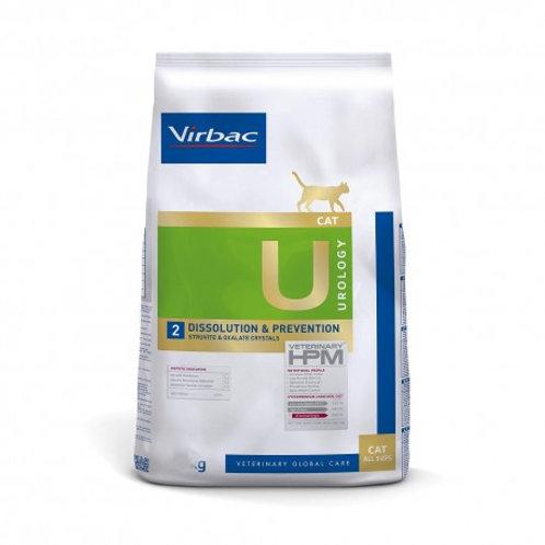 VIRBAC VETERINARY HPM U2 - Urology Dissolution & Prevention Cat