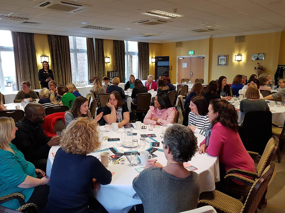 Socially Shared, Kenilworth Chamber of Trade, The Girl's Network, International Women's Day IWD2018