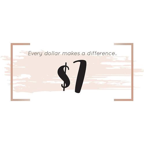 $7 Donation