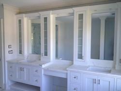 Vanity custom mirror