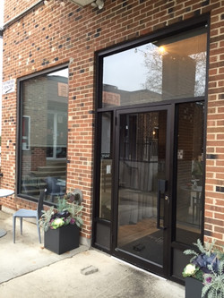 Granola Bar door and window