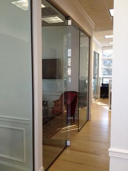 Side shot panel door panel