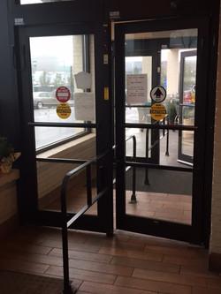 Fresh Market electric entrance