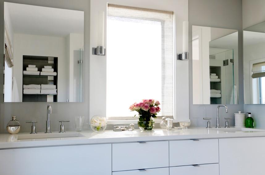 Back painted vanity mirror 1