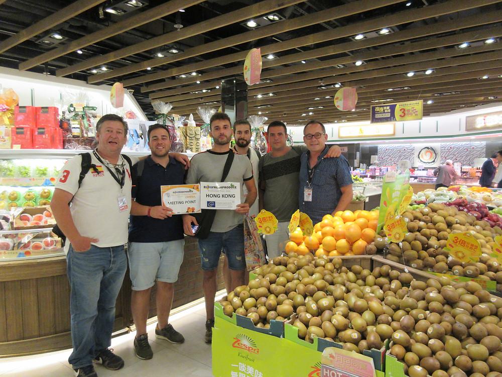 Eurofreshproduce Promotion del Kaki Español en Hong Kong
