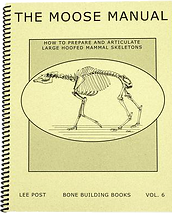 Moose/Deer Skeleton Book