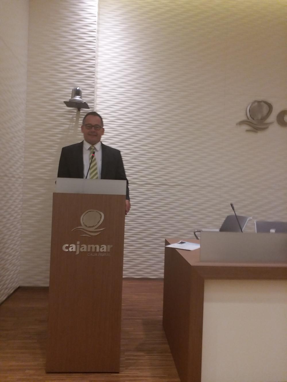 Oliver Huesmann Cajamar Proexport Murcia