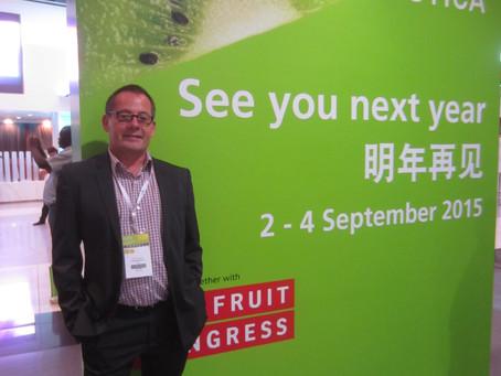 Fruitconsulting – Oliver Huesmann organisiert Gemeinschaftsstand auf Asia Fruit Logistica, HongKong