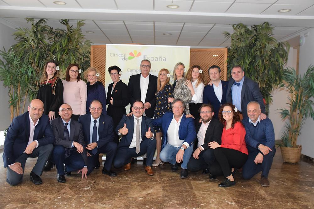 Oliver Huesmann bei der  Preisverleihung Botschafter der Zitrone in Asien / Premios de Limon de Citricos España