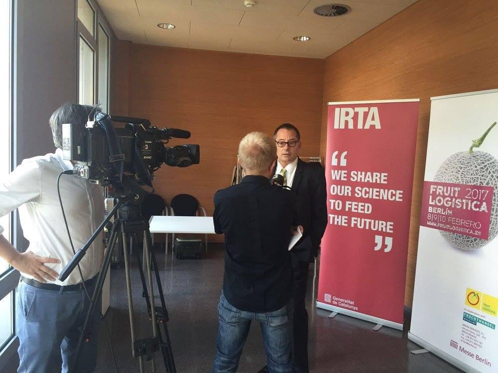 Oliver Huesmann im Interview mit Antenna 3