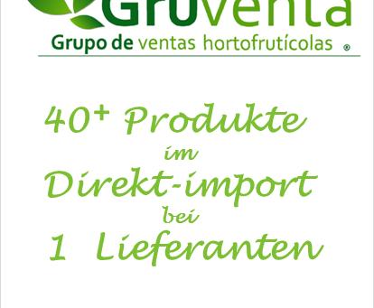 """Unter dem Motto """" 41 + im Direktimport von 1 Lieferanten """" , präsentiert Gruventa seine Produkte zur"""