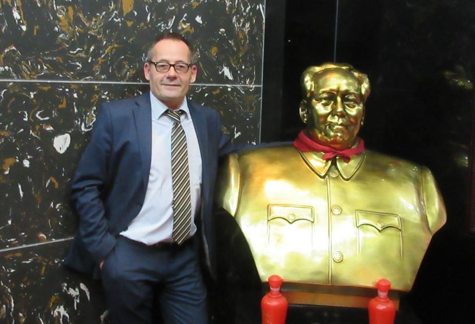 Oliver Huesmann Mao Tse Tung Shanghai China