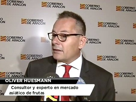 Spain: Aragon has high hopes for its fruit and veg in Asia