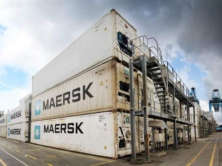 Oliver Huesmann aprieta el sector internacional del transporte marítimo refrigerado.