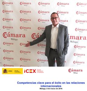 Oliver Huesmann Camara de Comercio Málaga