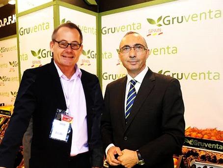 Oliver Huesmann und Fermin Sanchez präsentieren: Die Marke Gruventa für D-A-CH Kunden auf der Fruit