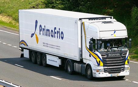 Primafrio assoziiert sich  mit der französischen Firma Primever und wird grösste Kühlfotte in Europa