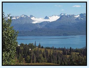 Grewingk Glacier, Homer, Alaska