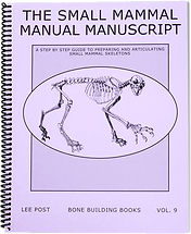 Small Mammal Skeletons Book