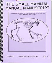 Small Mammal Skeletons Book