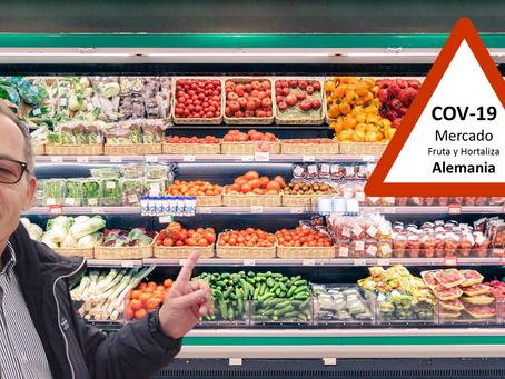 La crisis del Corona Virus impulsa actualmente las compras de Fruta y Verdura en Alemania