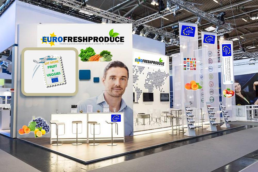Eurofreshproduce Stand HongKong Shanghai