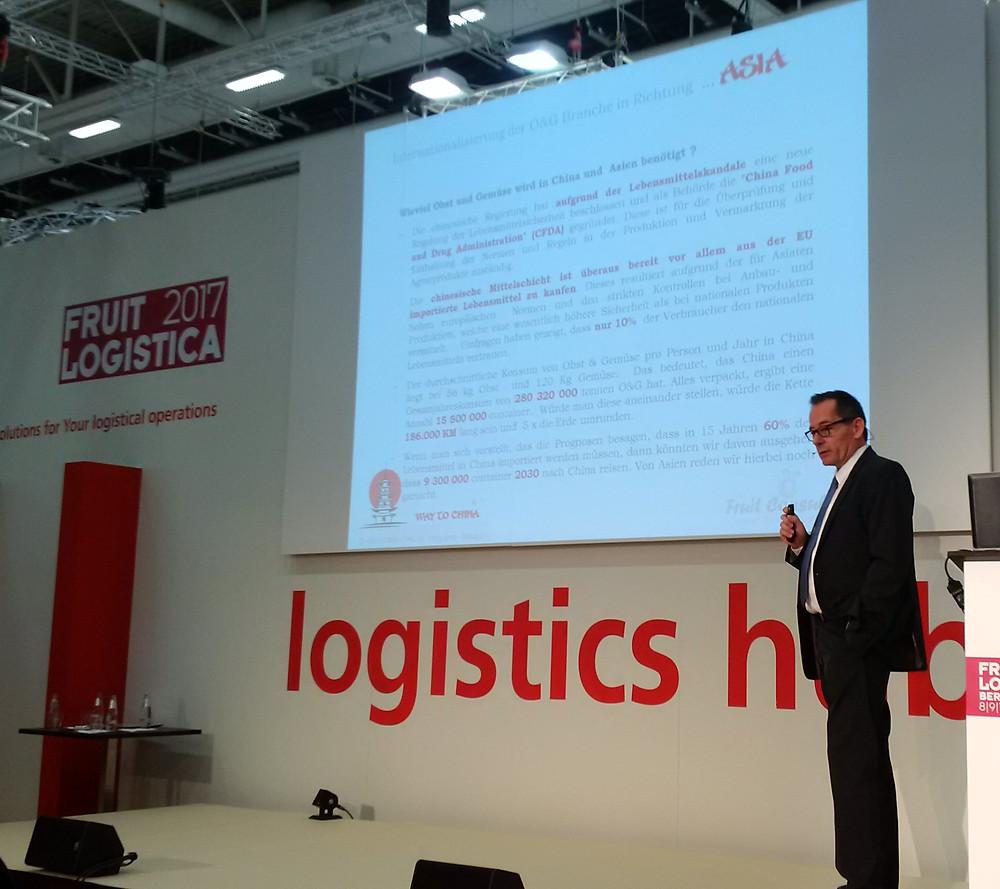 Oliver Huesmann Logisticshub Fruitlogistica Berlin